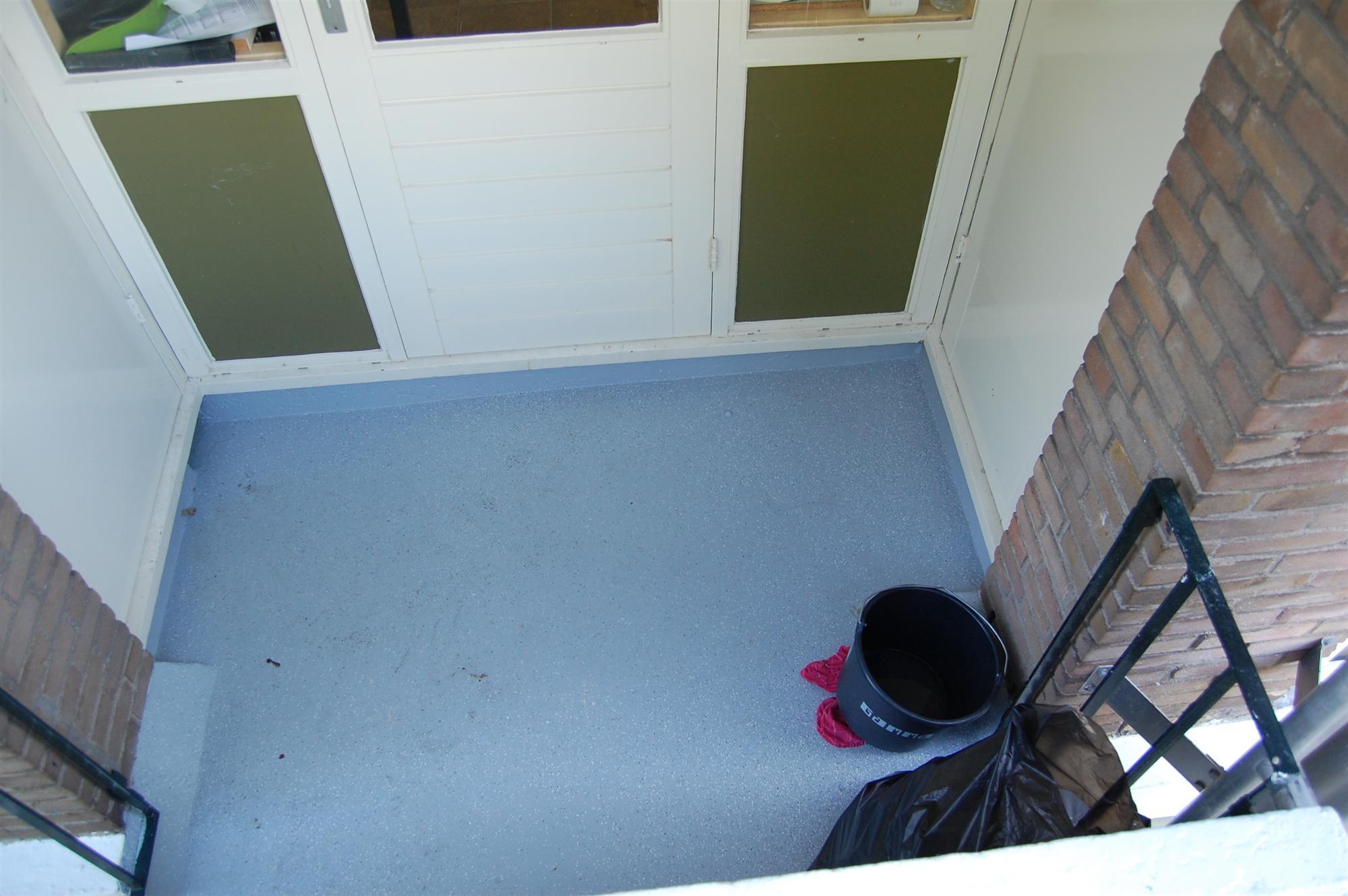 coaten-balkonvloer